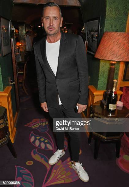 Fat Tony attends the Rita Ora dinner and performance at Annabel's on June 27 2017 in London England