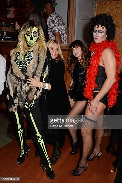 Fat Tony Pip Gill Annabelle Neilson and David Graham attend 'Death Of A Geisha' hosted by Fran Cutler and Cafe KaiZen with Grey Goose on October 31...