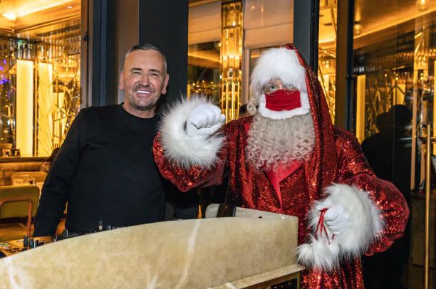 GBR: DJ Fat Tony's Christmas Special At Brasserie Of Light In Selfridges London