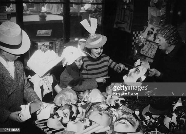 Fat Tuesday Costumes On March 4Th 1935