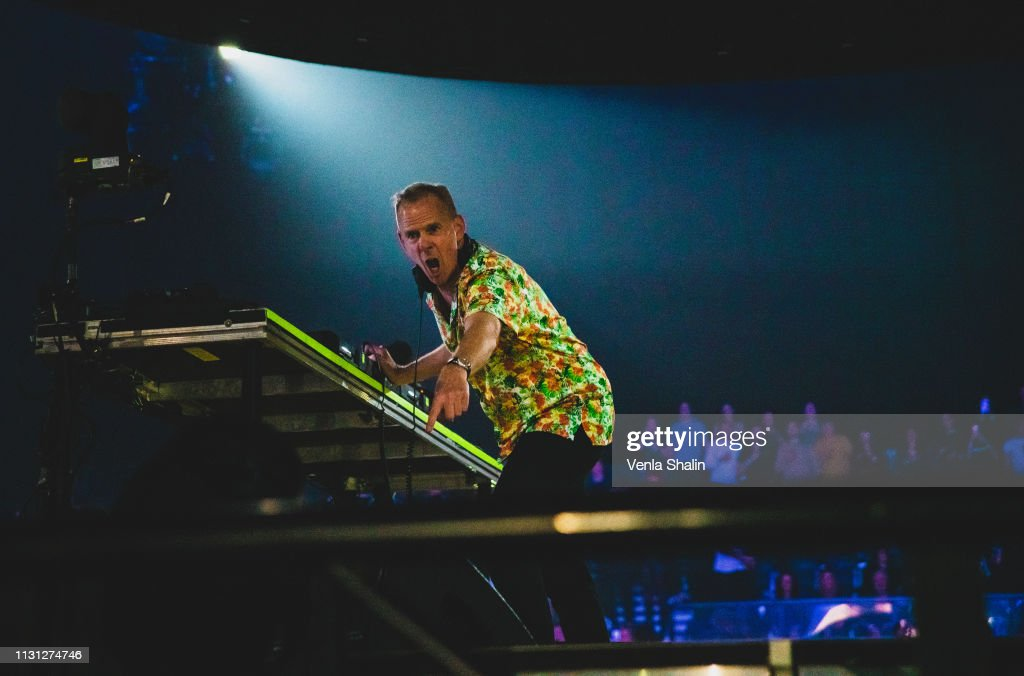 GBR: Fatboy Slim Performs At The SSE Arena, Wembley