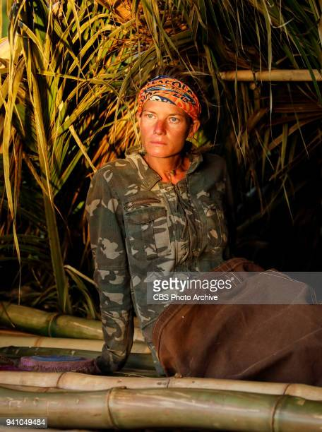 Fate Is The Homie Angela Perkins on the sixth episode of Survivor Ghost Island airing Wednesday March 28 on the CBS Television Network