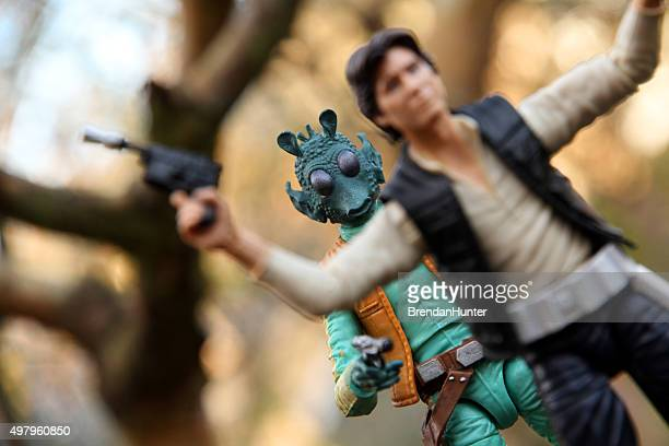 fateful encounter - jabba the hutt stock pictures, royalty-free photos & images