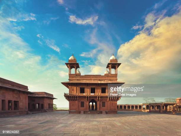 fatehpur sikri, agra, india - monument stock pictures, royalty-free photos & images