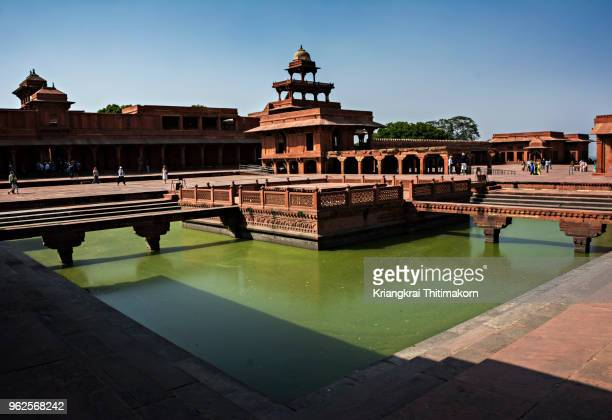 fatehpur sikri, agra, india. - fatehpur sikri stock pictures, royalty-free photos & images