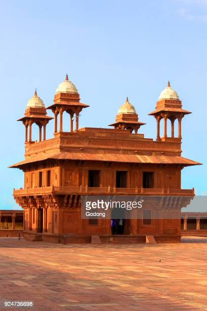 Fatehpur Sikri founded in 1569 by the Mughal Emperor Akbar served as the capital of the Mughal Empire from 1571 to 1585 Imperial Palace complex Red...