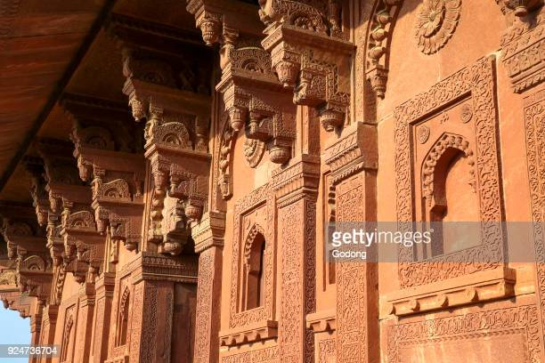 Fatehpur Sikri, founded in 1569 by the Mughal Emperor Akbar, served as the capital of the Mughal Empire from 1571 to 1585. Imperial Palace complex....