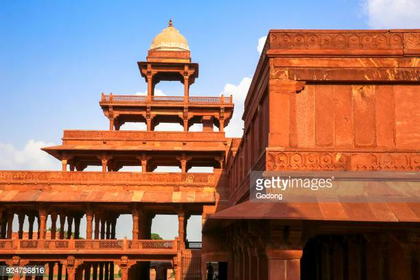 Fatehpur Sikri founded in 1569 by the Mughal Emperor Akbar served as the capital of the Mughal Empire from 1571 to 1585 Imperial Palace complex Panch...