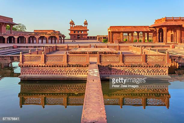 fatehpur sikri in india - fatehpur sikri stock pictures, royalty-free photos & images