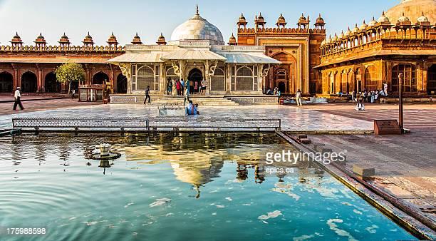 fatehpur sikri - tomb of salim chishti - fatehpur sikri stock pictures, royalty-free photos & images