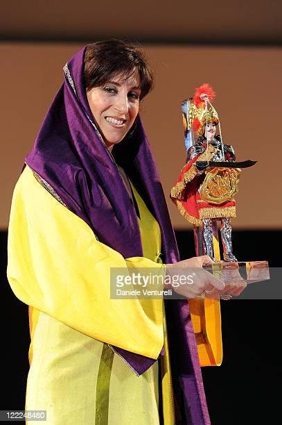 Fatemeh Motamed Arya attends the Taormina Arte Award during the Taormina Film Fest 2010 on June 15, 2010 in Taormina, Italy.