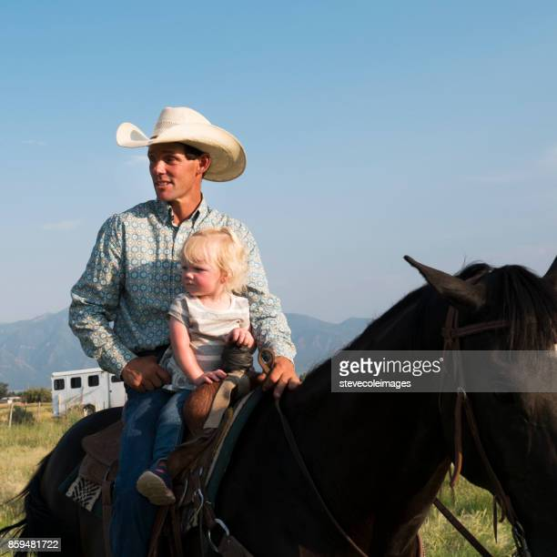 father and baby - appaloosa stock pictures, royalty-free photos & images