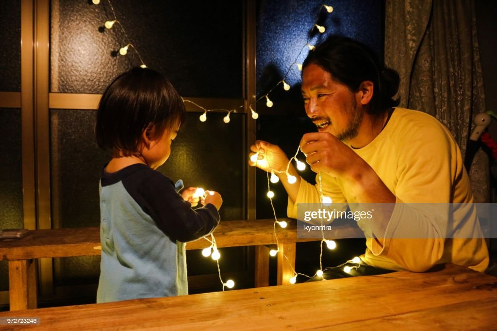 父と赤ちゃん : ストックフォト