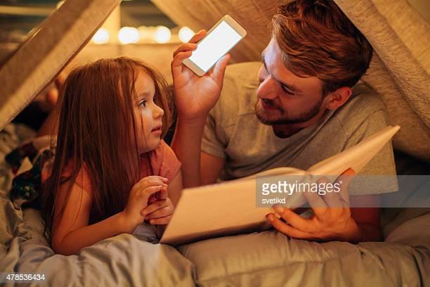 父と娘、ご自宅でのようにお楽しみいただけます。