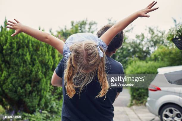 father and daughter - fun stock pictures, royalty-free photos & images