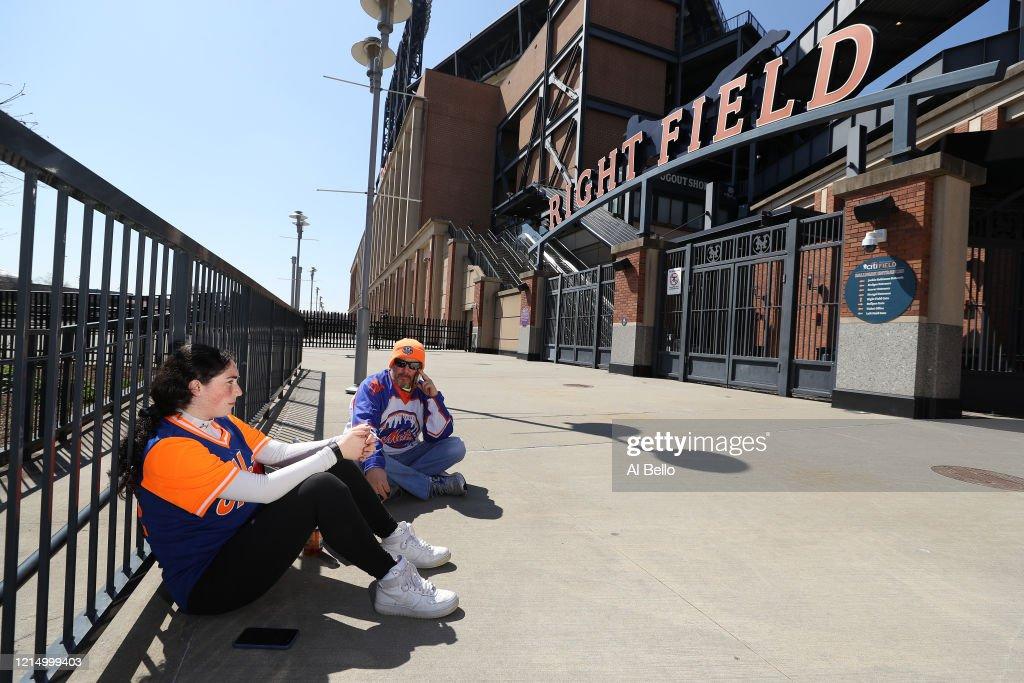 MLB Opening Day Postponed Due To Coronavirus : News Photo