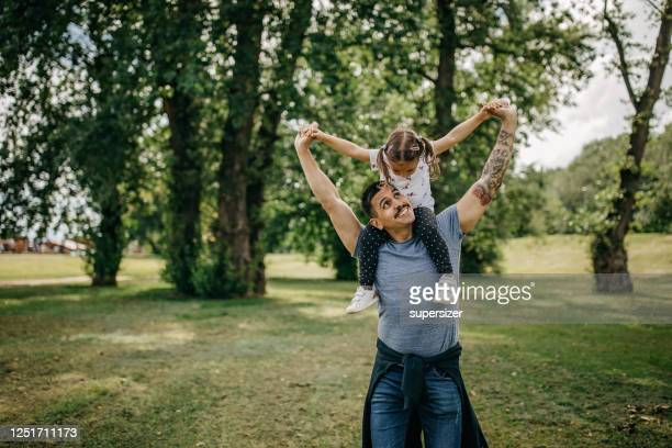 father and daughter spend quality time together - life insurance stock pictures, royalty-free photos & images