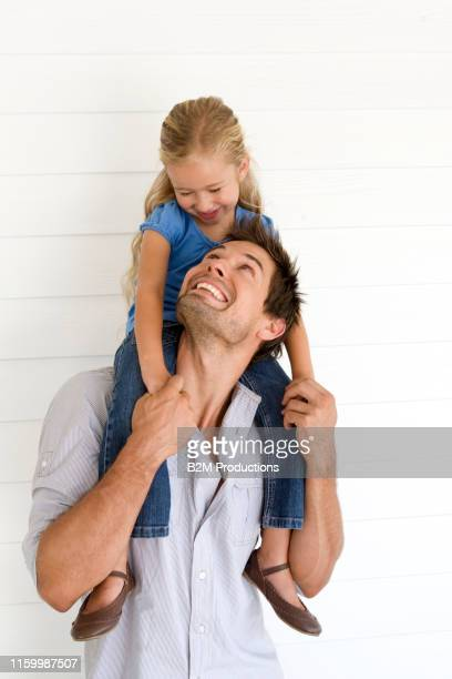 father and daughter standing - 2010 2019 stock pictures, royalty-free photos & images