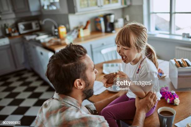 Father and daugther