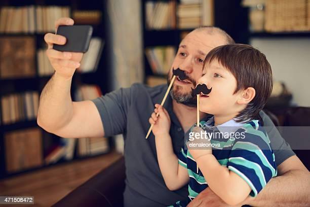 Pai e filho pequeno