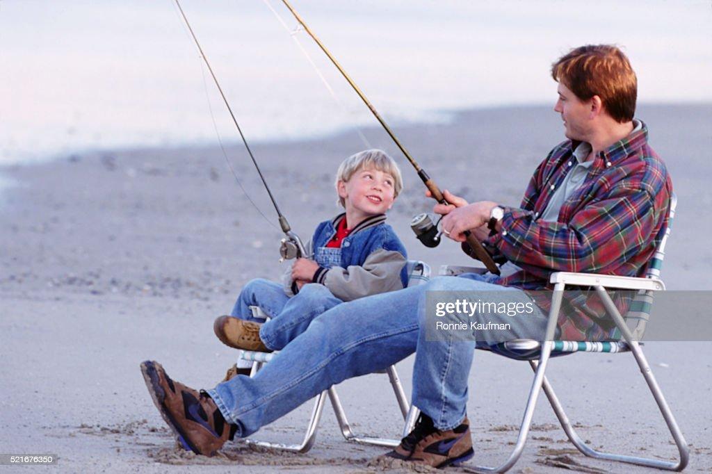 рыбалка с родителями