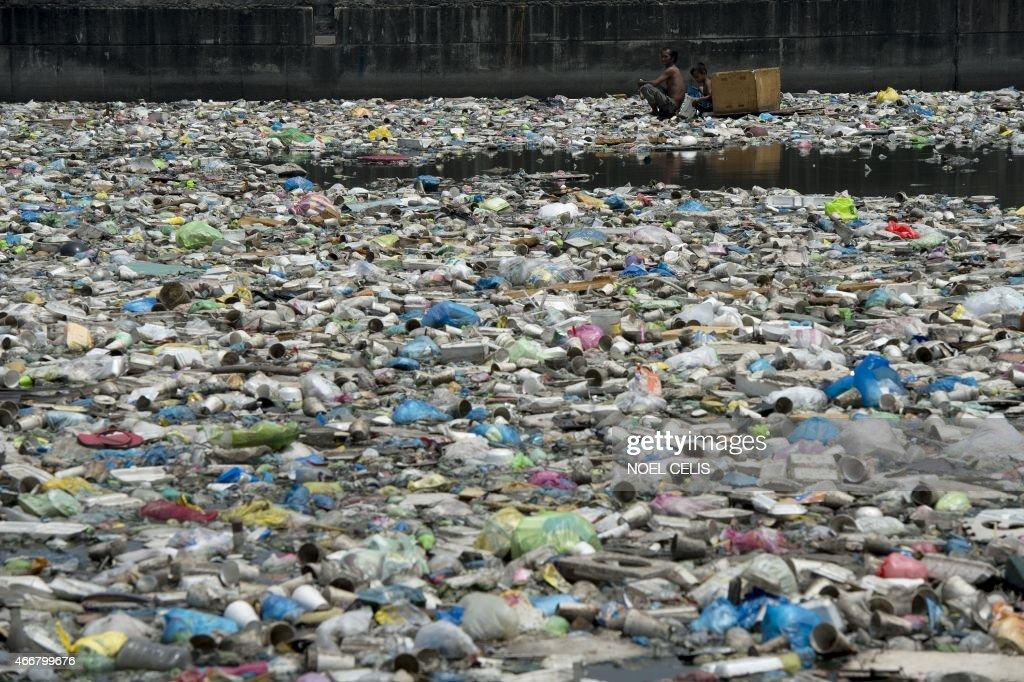 PHILIPPINES-ENVIRONMENT-WORLD WATER DAY : News Photo