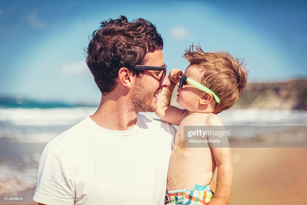 Father and son : Stock Photo