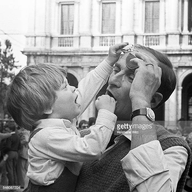father and son playing - 20th century stock pictures, royalty-free photos & images