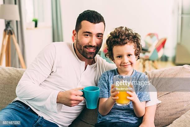 Padre e hijo tiempo