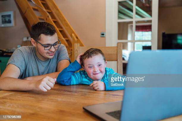 father and son video call - one parent stock pictures, royalty-free photos & images