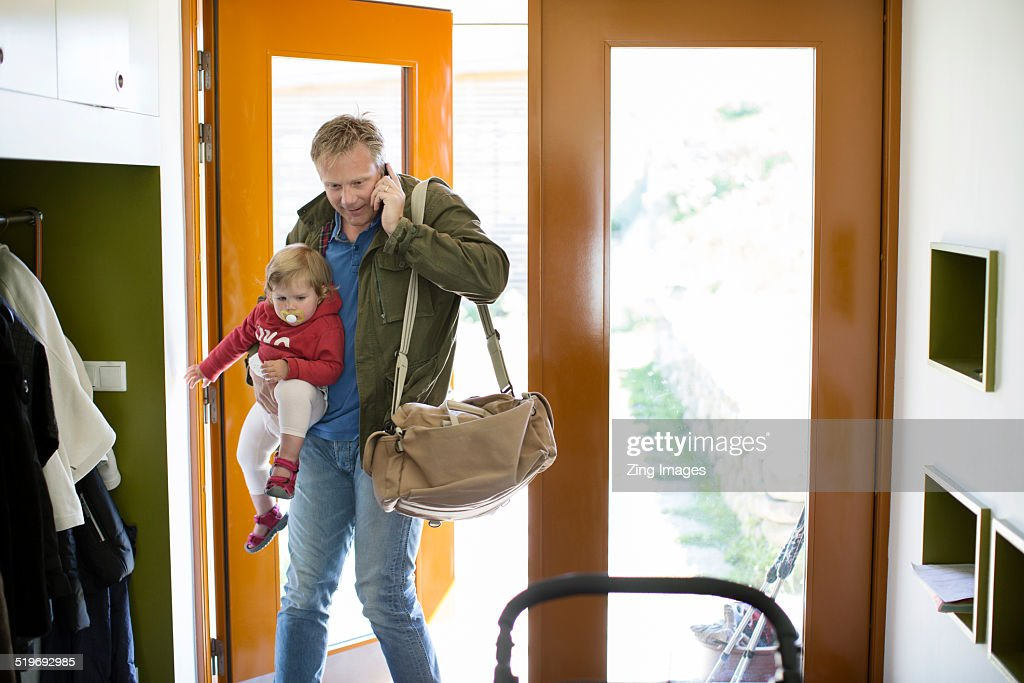 Father and toddler : Stock-Foto