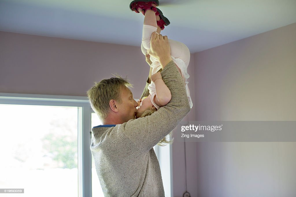 Father and toddler : Stock Photo