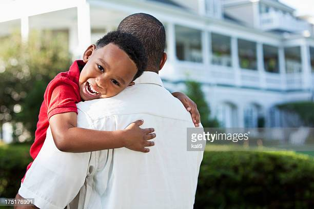 Père et son jeune fils