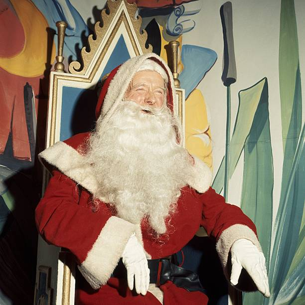 Father Christmas At Gamages In London England United Kingdom