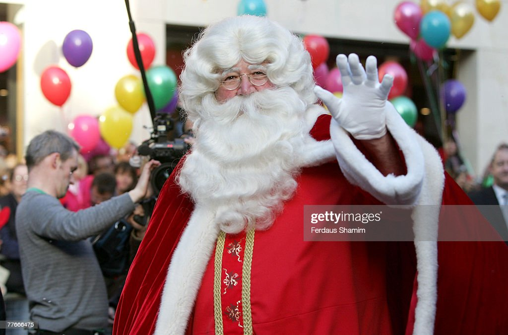 Father Christmas Attends Harrods Parade At On November 3 2007 In London