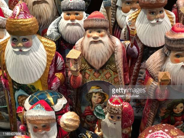 father christmas - orthodox christmas stock pictures, royalty-free photos & images