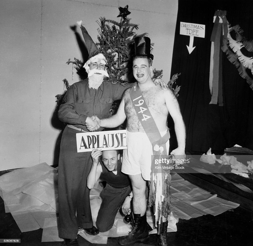 Army holiday skit, ca. 1943 : News Photo