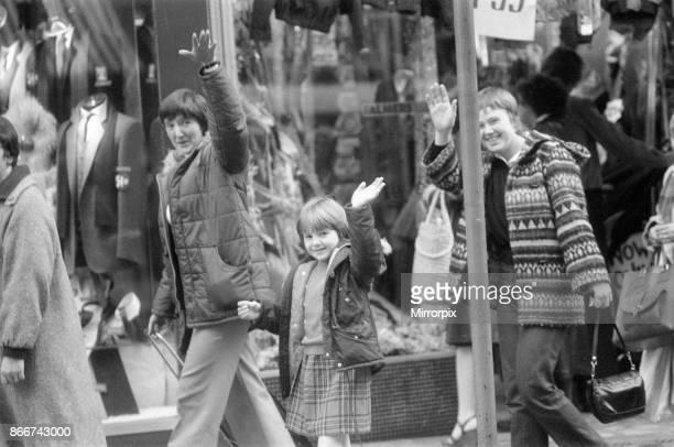 Father Christmas Tours Birmingham City Centre, 8th December 1979.