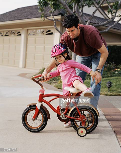 Father Daughter Bike Training