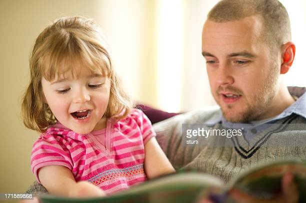 father daughter booktime