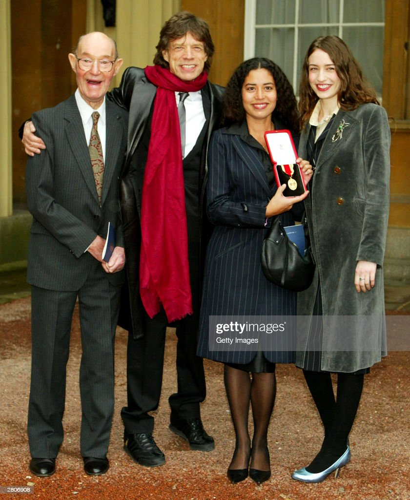 Sir Mick Jagger Receives Knighthood
