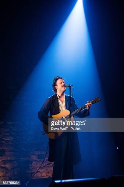 Father John Misty performs at Cafe de la Danse on March 20, 2017 in Paris, France.