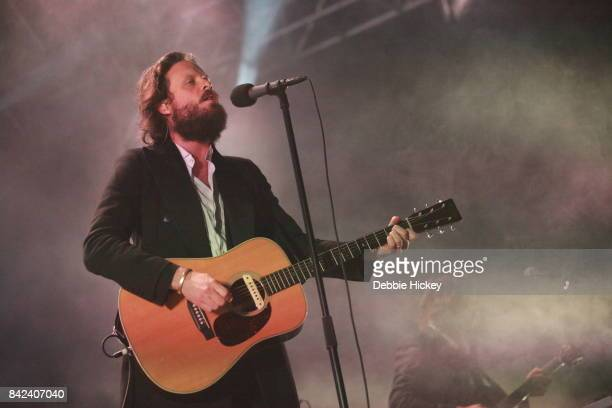 Father John Misty performs at Electric Picnic Festival at Stradbally Hall Estate on September 3 2017 in Laois Ireland