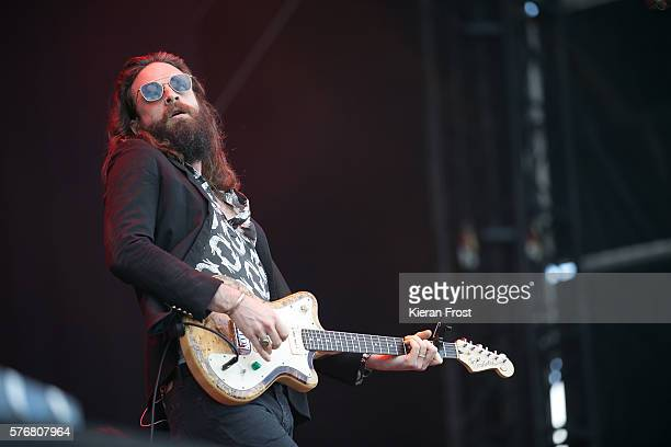 Father John Misty performs at Longitude Festival at Marlay Park on July 17 2016 in Dublin Ireland