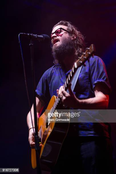 Father John Misty performs at St Jerome's Laneway Festival on February 10 2018 in Brisbane Australia