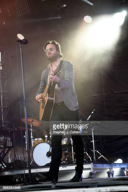 Father John Misty performs at the 2018 Forecastle Music Festival on July 13, 2018 in Louisville, Kentucky.