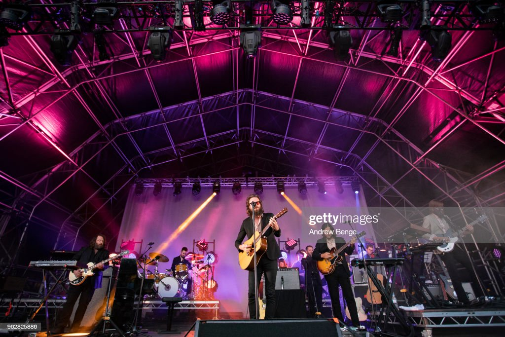 Father John Misty Performs in Halifax