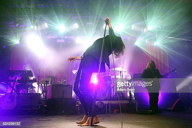 Father John Misty performs during a concert at Astra Kulturhaus on May 25 2016 in Berlin Germany