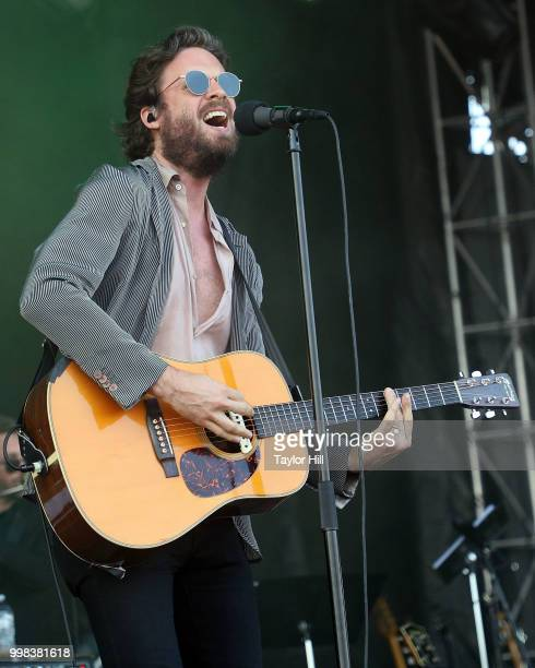 Father John Misty performs during the 2018 Forecastle Music Festival at Louisville Waterfront Park on July 13, 2018 in Louisville, Kentucky.