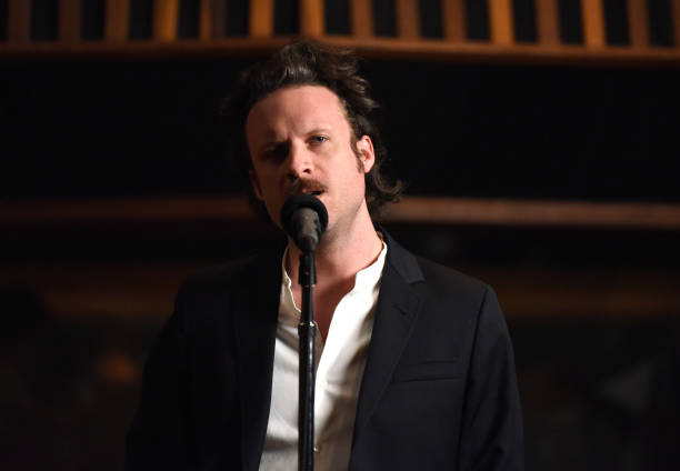 Father John Misty Performs For Siriusxm At United Studios In Los Angeles On